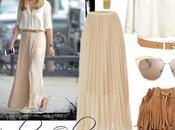 Olivia palermo, look falda larga