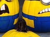 Idea para decorar calabazas Minions