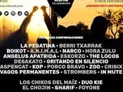 Primeros nombres para Viña Rock 2016: Pegatina, Berri Txarrak, Chikos Maíz, Boikot, Narco...