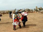 Torneo internacional combate medieval castillo Belmonte