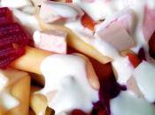 Ensalada pasta mayonesa vegana yogur