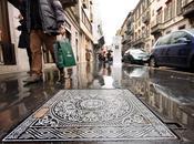 Arte urbano Milán: Alcantarillas estilo