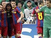 Barcelona goleó Panathinaikos aseguró pase octavos