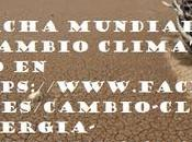 Marcha mundial contra cambio climatico