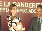 Doña Letizia, maternal Banderita