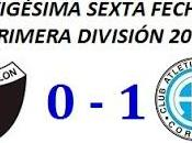 Colón:0 Belgrano:1 (Fecha 26°)