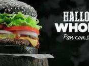 """Burger King lanza Whopper Halloween """"terrorífico"""" negro"""
