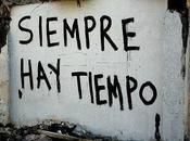 Siempre tiempo….