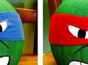 Calabazas decoradas Tortugas Ninja