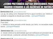 Culebrón agencias calificación Ayto Madrid: chantaje, farol, cojones rectificación.