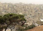 Jordania días: hacer país teñido ocre