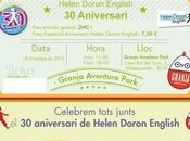 Fiesta aniversario Helen Doron Granja Aventura Park