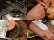 Empanadillas espinacas champiñones sobrasada