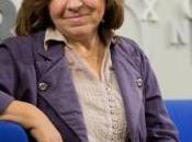 Svetlana Alexiévich, Premio Nobel Literatura 2015