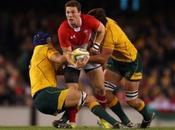 Australia derrotó Gales clasificó como primero grupo