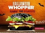 """Halloween Whopper"" Burguer King"
