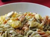 Ensalada pasta mango pollo