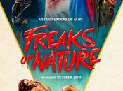 """Póster band trailer """"freaks nature"""": vampiros, zombies humanos contra aliens"""