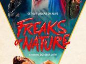 Tráiler #RedBand afiche #FreaksOfNature. Estreno #EstadosUnidos, Octubre