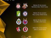 Calendario 4tos final CopaMx apertura 2015
