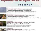 """Ciclo conferencias """"Planes recuperación especies Aragón"""""""