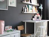 Decorar habitación niña estilo nórdico ESCRITORIO ZONA JUEGOS!