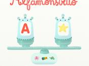 Alfamonstruo. especial para aprendizaje letras.
