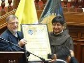 Homenaje convento ocopa, foco misión, cátedra peruanidad, congreso república