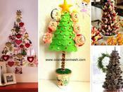 Ideas decorativas para hacer arboles navideños espacios reducidos