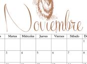 Imprimible: Calendario Noviembre 2015