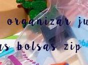 Ideas para organizar juguetes bolsas