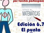 Resumen 'Edición 6.7: punto' Carnaval Matemáticas