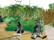 """Big Bamboom"". Jardín finalista Festival Allariz 2015"