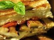 Sandwich vegetariano berenjenas
