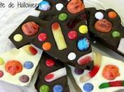 Truco trato: chocolate halloween