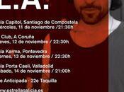 Próximas fechas L.A. Pontevedra, Coruña, Santiago Compostela Valladolid
