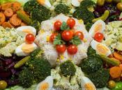 Ensalada marroqui verduras arroz سلطة الجردة