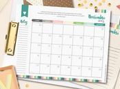 Calendario Mensual Noviembre, Descárgalo GRATIS!