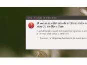 Liberar espacio partición sistema ubuntu