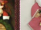 """Moldes para hacer muñecos Navideños """"Santa claus"""""""