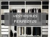 vestidores pequeños perfectos
