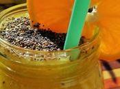 Batido pera, mango kiwi semillas