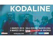 Kodaline actuará 2016 España