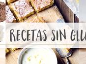 recetas gluten dulces saladas