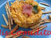 Revuelto bacalao patatas paja (bacalao bràs)