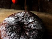 Bizcocho chocolate berenjenas rojas #masquelechugas