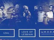 Love Lesbian, Izal M.O.D.A., primeros nombres para Santander Music Festival 2016