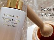 maquillaje coreanas escondían: Signature super light foundation SPF20 Missha