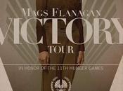 """""""los juegos hambre: sinsajo (parte 2)"""": joven mags flanagan posters promocionales capitol couture"""