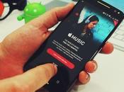 Apple Music acribillado negativos Play Store